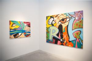 Crash broken english exhibition jonathan levine gallery