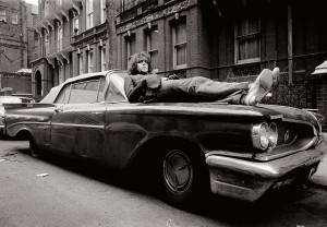 Mick Rock's shot of Syd Barrett