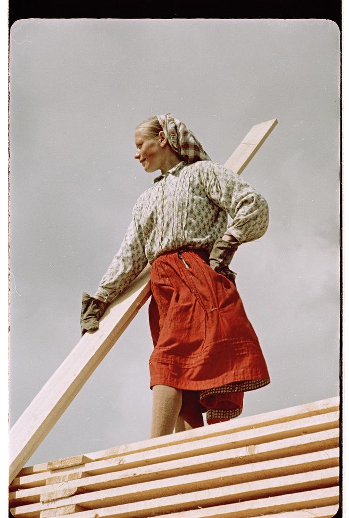 Девушка. Фотограф Семен Фридлянд